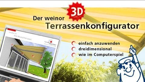 terrassen konfigurator nitz nitz gmbh. Black Bedroom Furniture Sets. Home Design Ideas