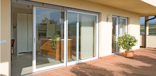 Hebe-Schiebe-Tür für Terrassen und Balkone